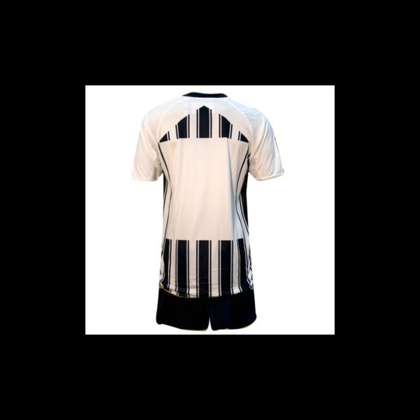 Completo da Calcio Maglietta e Pantaloncini Chelsea Legea Bianco/Nera MC