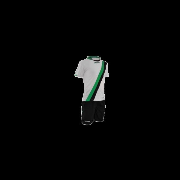 Completo da Calcio Maglietta e Pantaloncino Gibilterra Legea Verde/Nero
