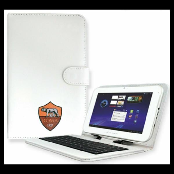 Cover con Tastiera Per Tablet 7 pollici AS Roma Techmade