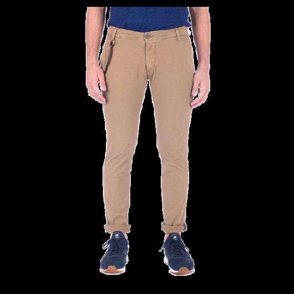 Pantalone Uomo in Cotone Modfitters Avana