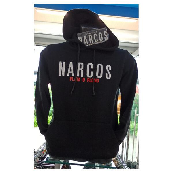 Felpa Girocollo Narcos