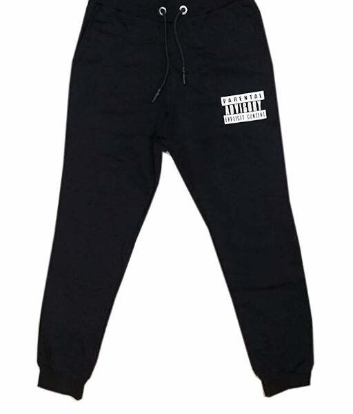 Pantalone Felpa Uomo Parental Adivisory