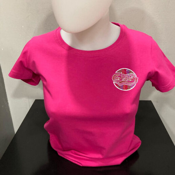 Carslberg T-Shirt Donna Fucsia m/c