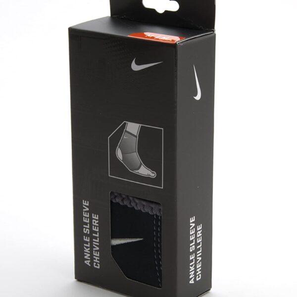 Nike caviglia manica (nero / carbone scuro, medio)