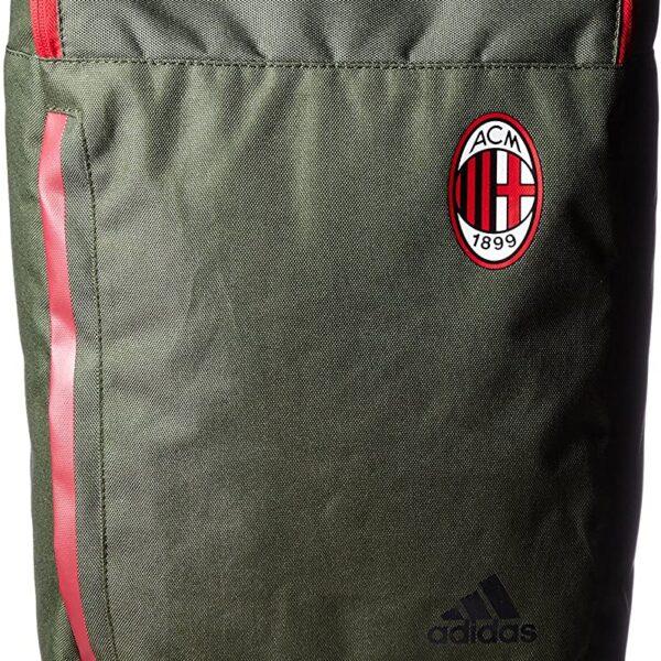 Zaino Adidas AC Milan Verde militare