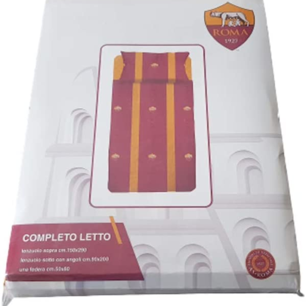 hermet As Roma Completo Letto 3 Pz