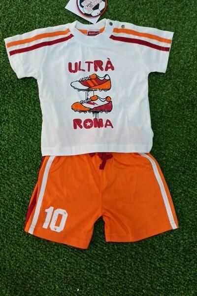 Roma Completino cotone Baby Montefiore