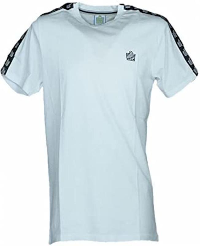 Admiral t-Shirt con Bande e Logo