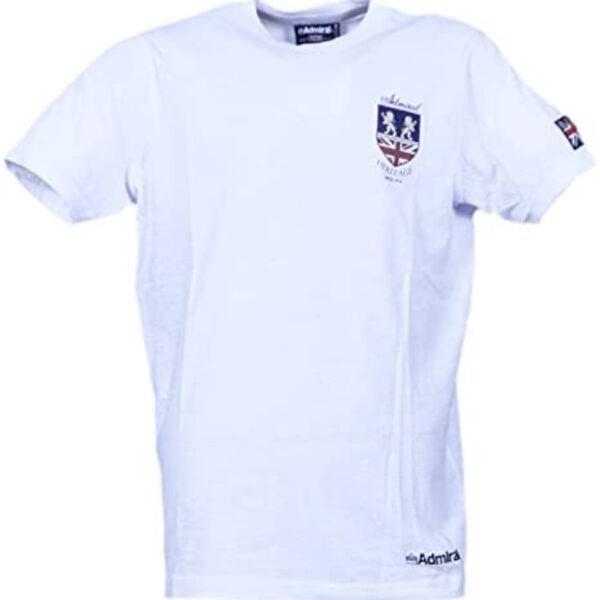 Admiral T-Shirt Lios Logo Stampato Heritage White